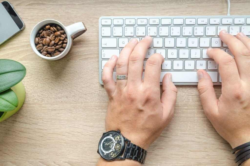 work from home typing jobs